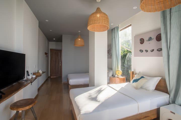 帕劳白露酒店Beluu Sea View Resort标准海景双床房