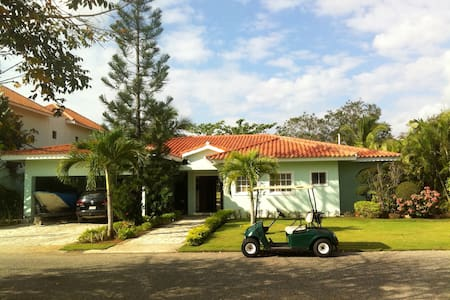 Private villa on the golf course - Juan Dolio - Villa