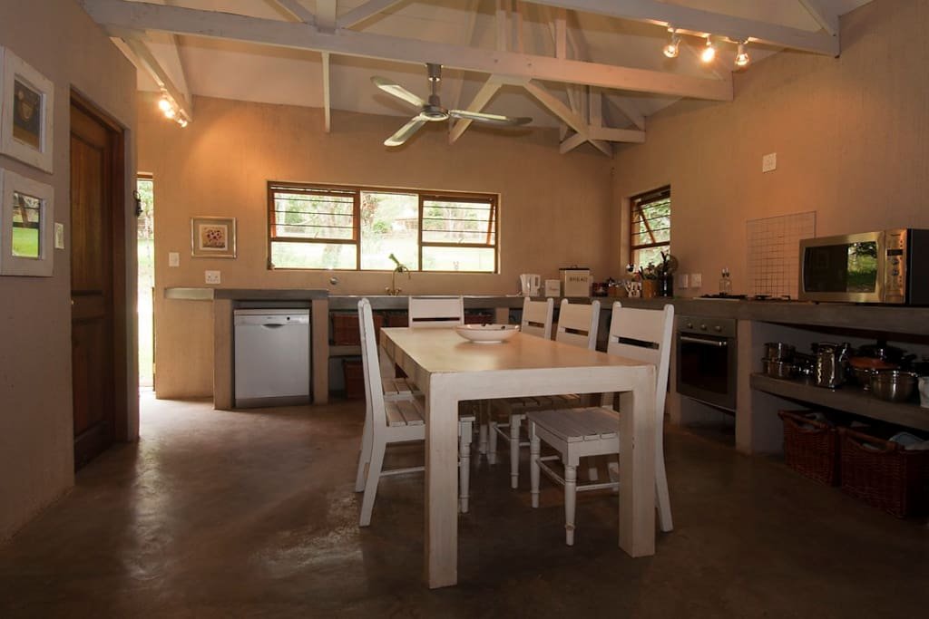 Farm style fully equipped kitchen