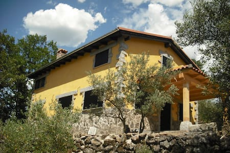 Cottage among olive trees and oaks - Hervás - บ้าน