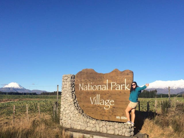 In the heart of Tongariro. Nationl Park Village - National Park