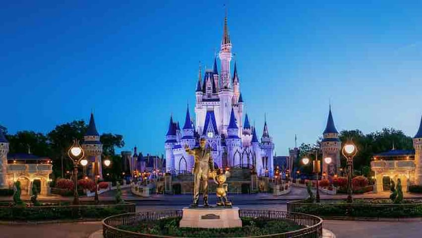 New Great 2BD/Bath minutes away Disney attractions