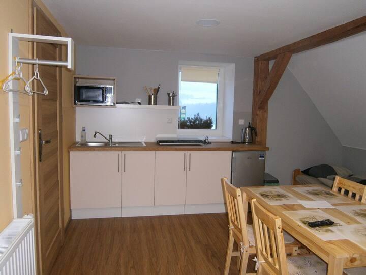 Nový prostorný apartmán pro 5 osob