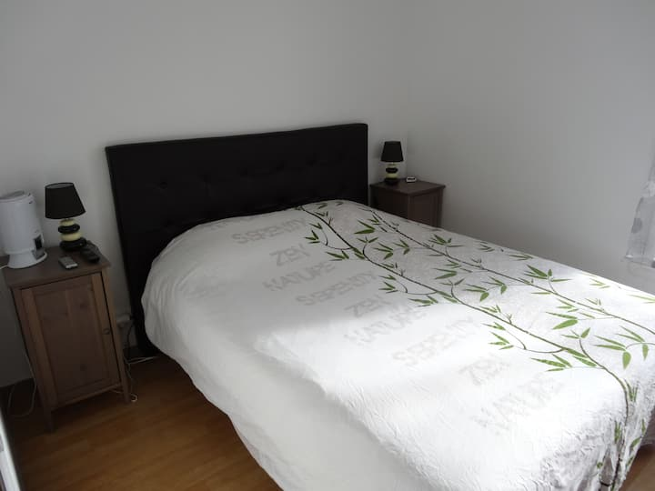 Nice room with king size bed