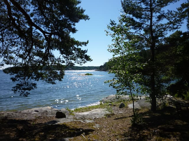 A Little peace of heaven, Stockholm - Lidingö - Cabana