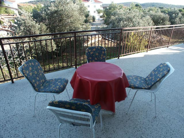 Studio Appartement mit Terrasse und Meerblick Jezera (Murter) (AS-798-d)