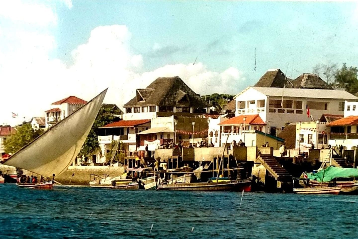 Lamu Old Town, the dazzling beautiful alive seafront.