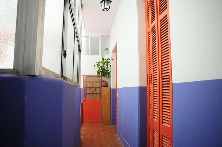 Habitación en lugar antiguo, San Telmo