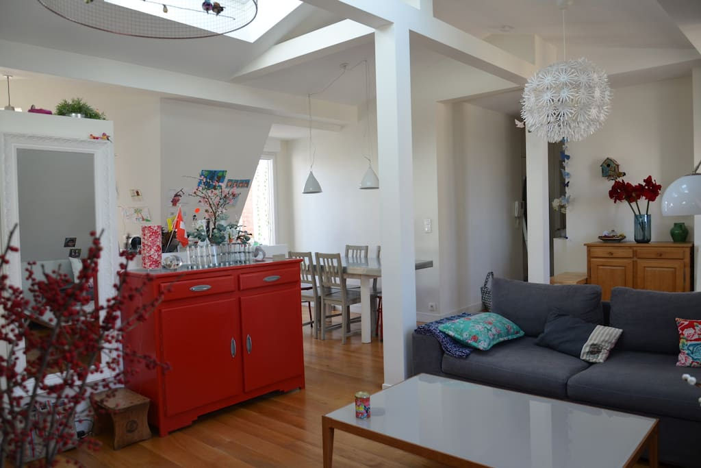 4 Pi Ces Sous Les Toits Style Loft Appartements Louer Paris Le De France France