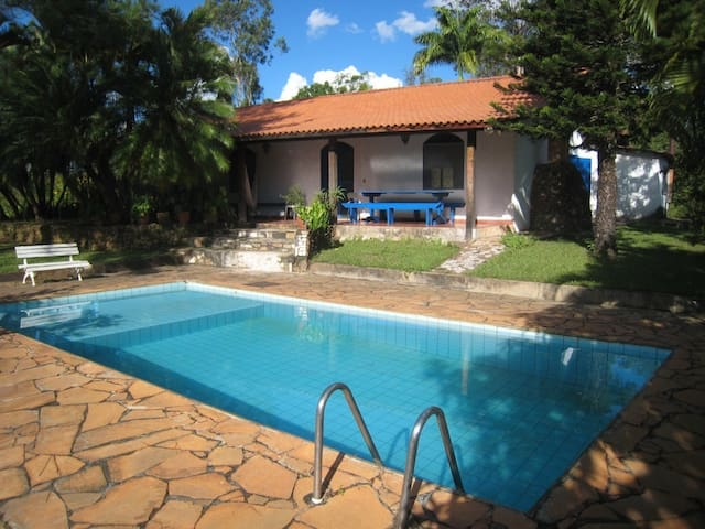 Farm house in beautiful landscape - Brasilia