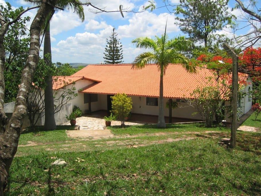 Main house, rear view