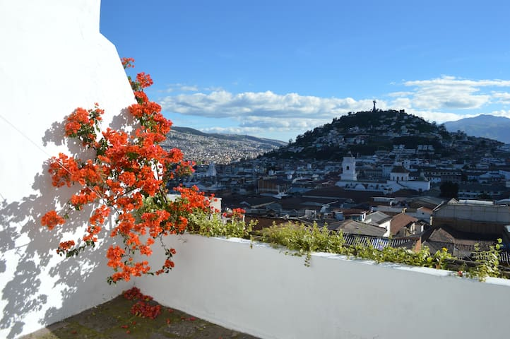 Colonial Apartment in the Historic Center of Quito