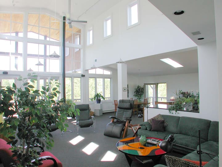 Modern Loft Living in the Country - private space