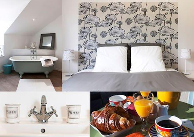Suite de charme à Banassac - Banassac - Bed & Breakfast