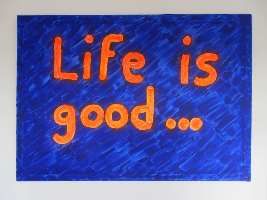 Motto of the apartment