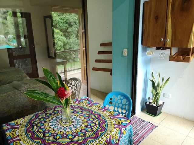 Stay in a quiet apartm and Surf near Playa Carmen
