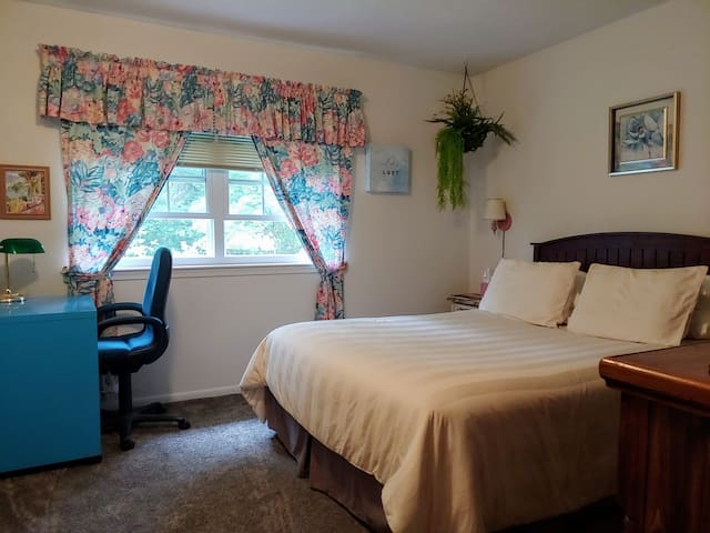 Deluxe private suite and bath in East Lansing area