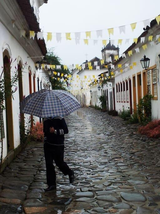 Rua Santa Rita - Centro Histórico de Paraty