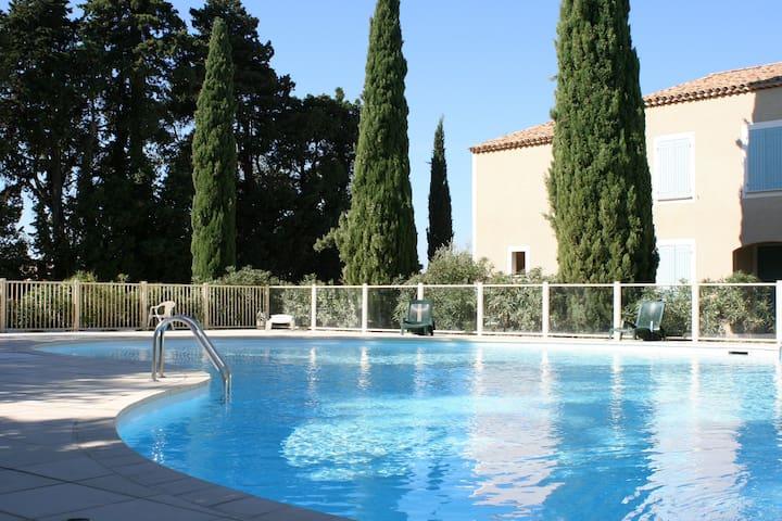 PROMO Gîte en Provence 4 pers. piscine - Sainte-Cécile-les-Vignes - Flat