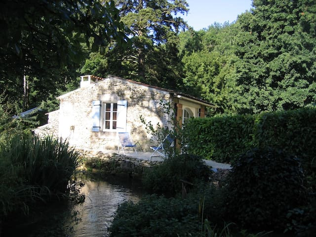 Moulin du Bourrut ancien moulin  du XVIIIe - Chaniers - Natuur/eco-lodge