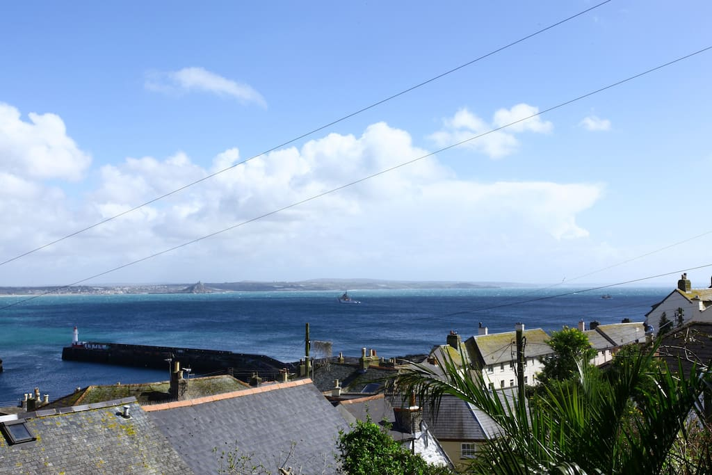 Lovely coastal view.