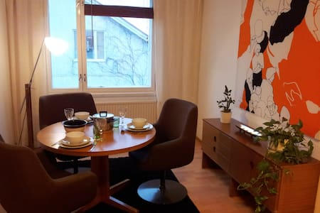 Charming flat in wooden house by the boat harbour - Rauma - Flat