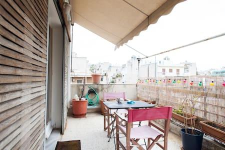 Apartment w/ balcony Athens Center