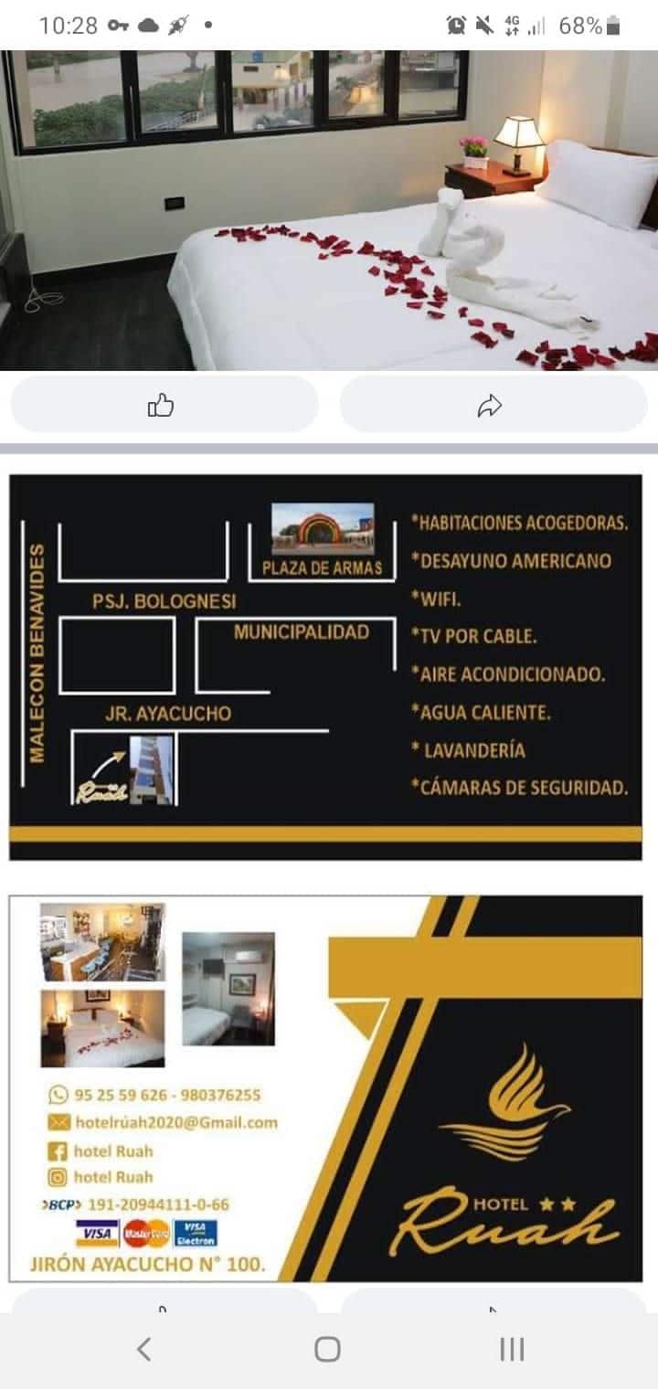 HOTEL RUAH   ** SIÉNTATE COMO EN CASA. 952559626