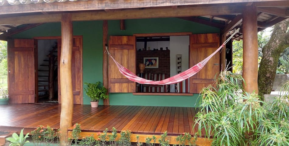 Charming Green House By The Beach - Barra Grande - Casa