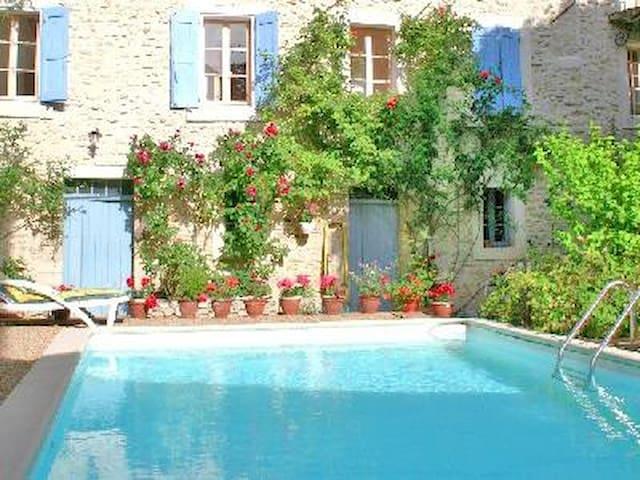 La Plume B2 jardin piscine Luberon - Apt - Apartment