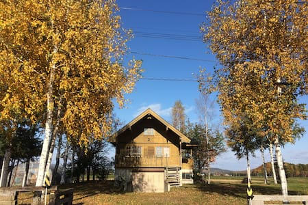 Swedish log with private SPA&SAUNA - 上川郡 - Maison