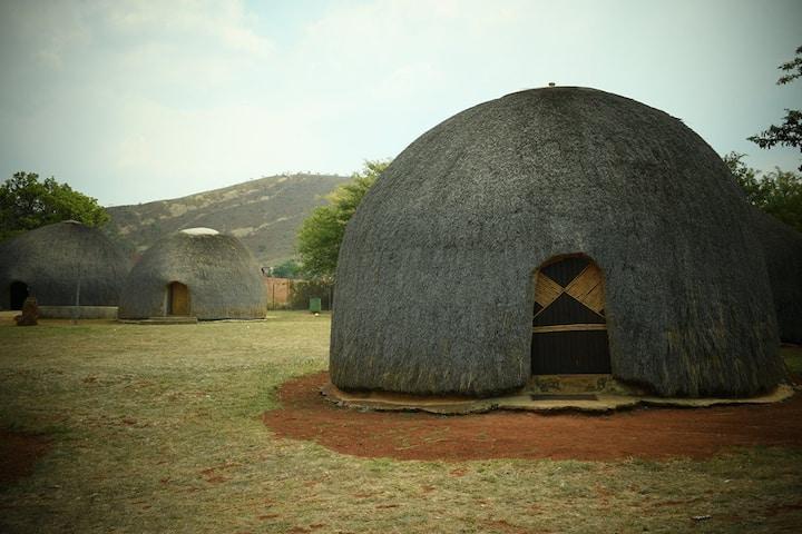 Ebutsini  Swazi village a true African experience