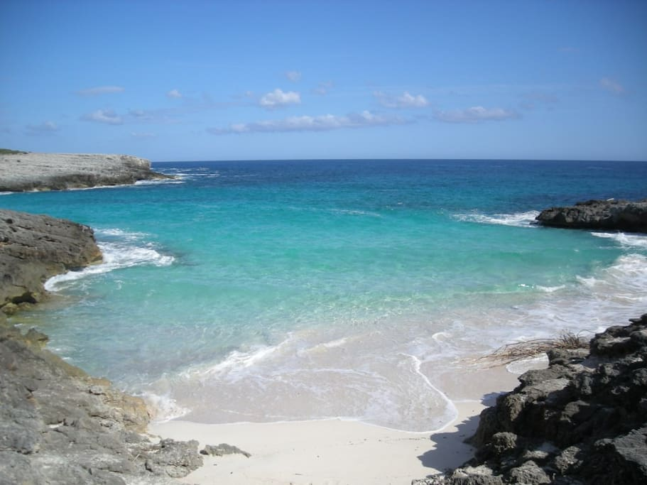 Like a 'private' mini beach between Cala Son Saura and Es Talet... southern coast