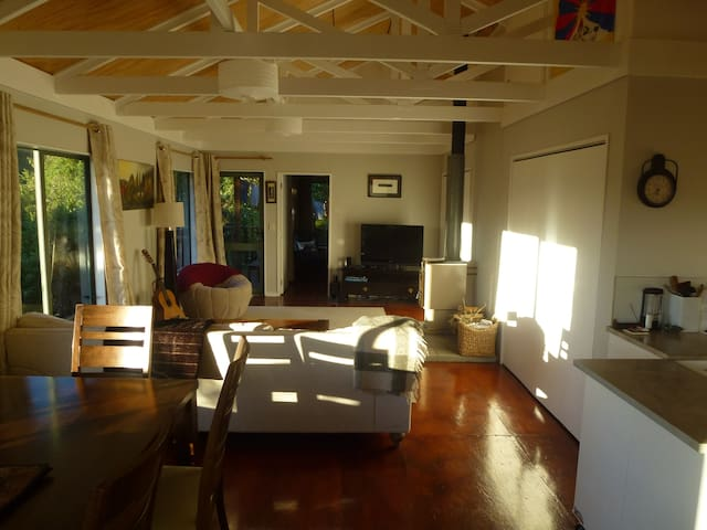 Hautere Hideaway - Otaki Gorge Eco-retreat - Hautere - Cabin
