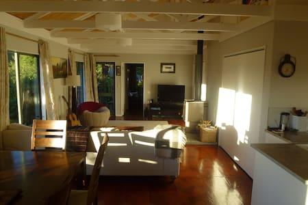 Hautere Hideaway - Otaki Gorge Eco-retreat - Hautere - 小木屋