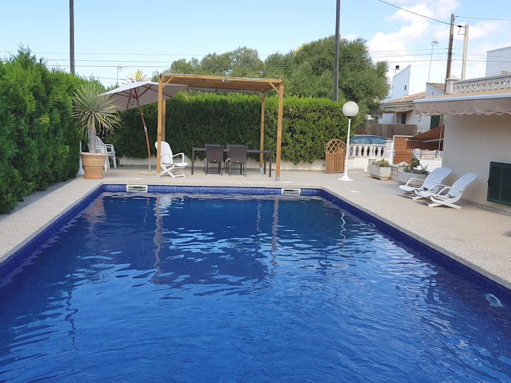 Casa Sa Rapita piscina uso exclusivo  200m del mar