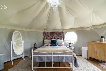 Helyg Snowdonia Glamping Nomadic Yurt