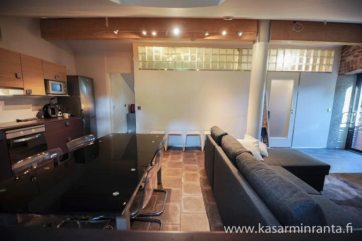 Premium 50m2 double room apartment 600m from cente
