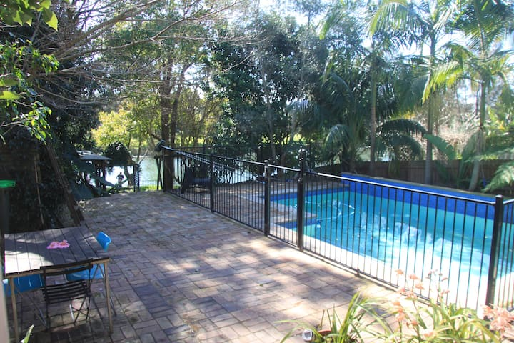 Located on the Cooks River, with direct access to parklands, bike tracks and public transport to the Sydney CBD