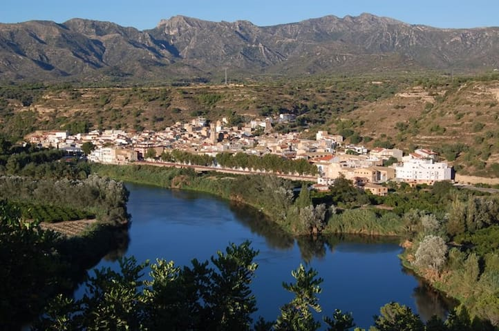 River Ebro Apartment - Tivenys - Huoneisto