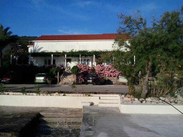 DUPLEX, 2 BR Apt WITH A SEA VIEW A1 - Drače - Appartement