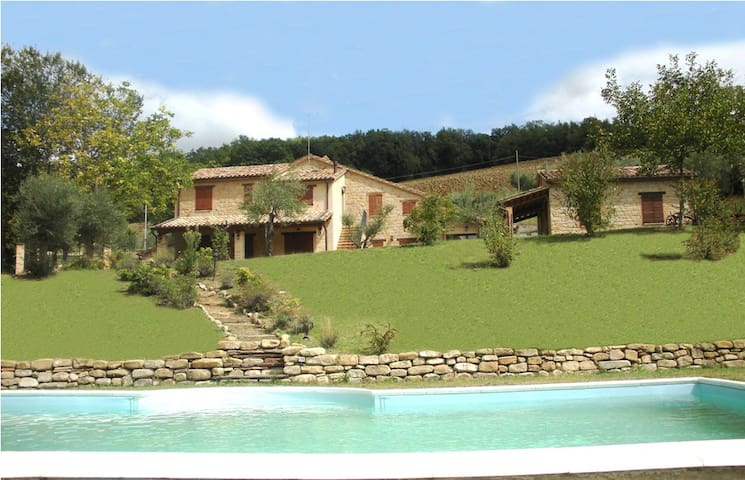 Charming Villa, pool beauty country - Gualdo - Vila