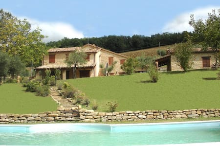 Charming Villa, pool beauty country - Gualdo