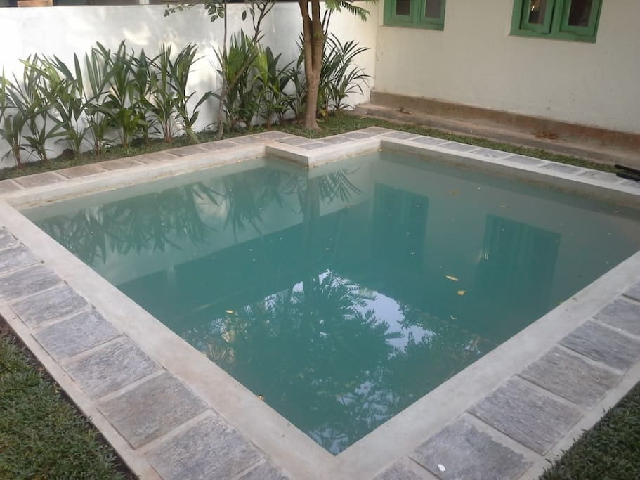 plunge pool tocool off
