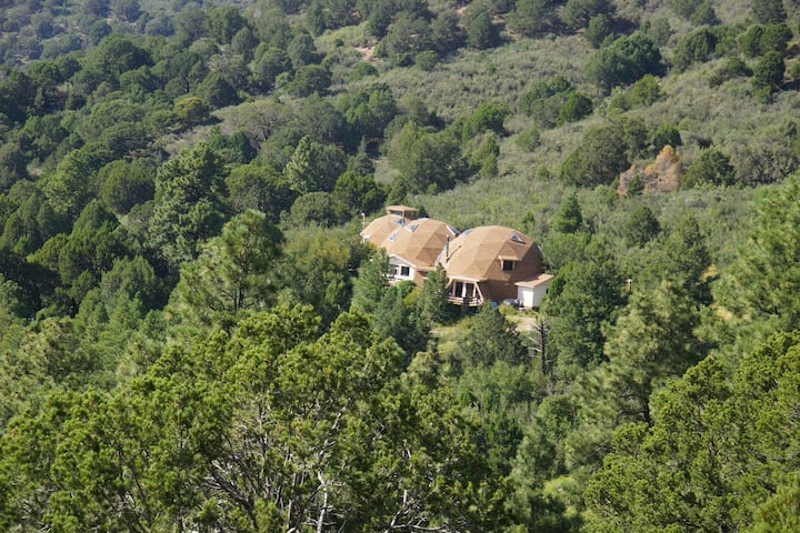 The Domes - nestled in remote mountains!