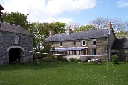 Old Stone Farmhouse in West Wales - Penparc - Bed & Breakfast
