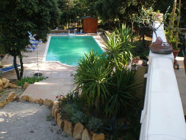 Beau 2 pièces, piscine sur 2500 m2 - Piolenc - Hus