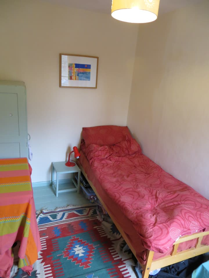 Single room in homely Arty house