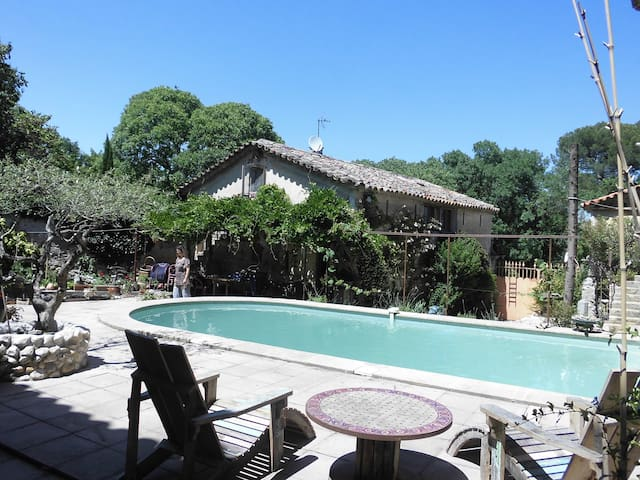 Maison dans hameaux près d'Anduze - Massillargues-Attuech - Casa