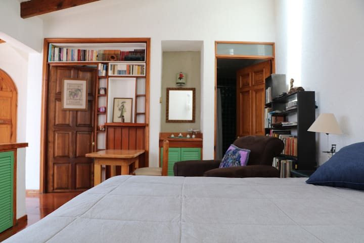 Cozy loft in folkloric Coyoacan (La casa de Meche)